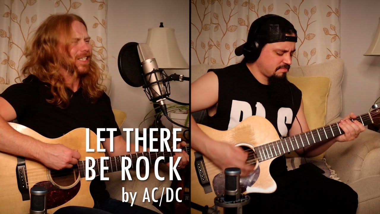 """""""Let There Be Rock"""" by AC/DC - Adam Pearce (Acoustic Cover)"""