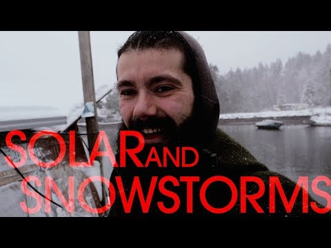 Making Solar Power in a Snow Storm - Sink or Swim 132