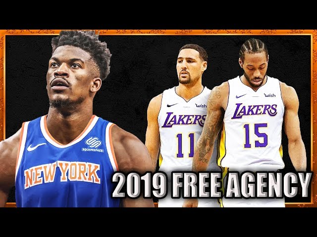 10 Free Agents in 2019 that could Change the NBA