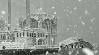 Gozel Menzere qarli hava