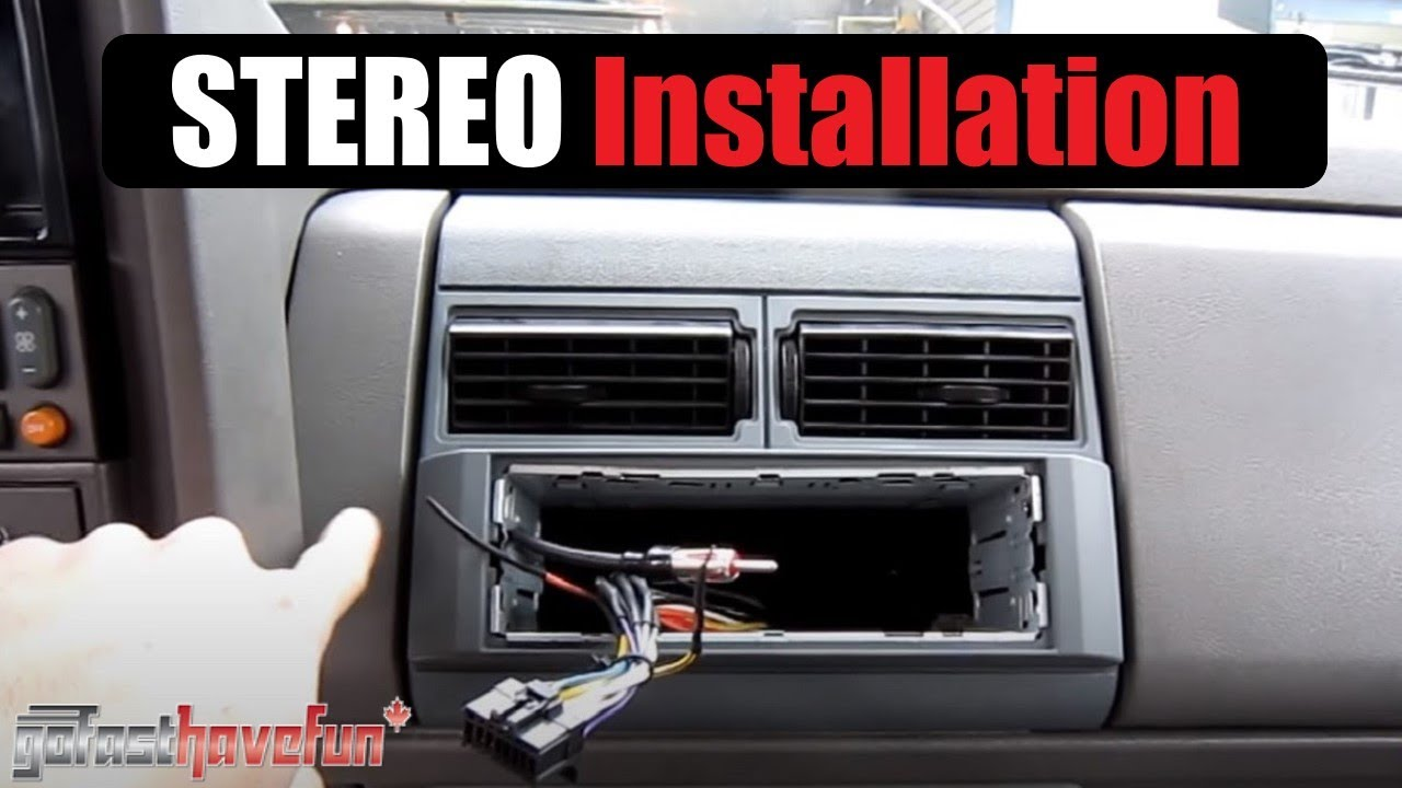 head unit stereo deck installation install soldering connections anthonyj350 [ 1280 x 720 Pixel ]