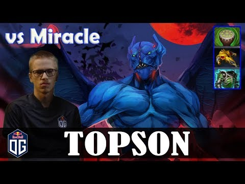 Topson - Night Stalker MID | vs Miracle (Lion) | Dota 2 Pro MMR Gameplay thumbnail