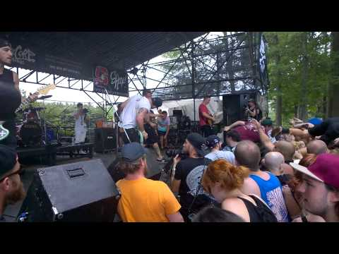 A Loss For Words - Wrightsville Beach (Live) @ 2015 Vans Warped Tour - Mansfield