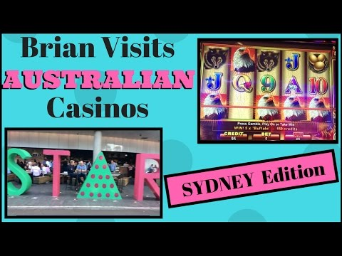 Brian visits SYDNEY Australia Casino ✦LIVE PLAY ✦ Slot Machine Pokies at The Star Casino