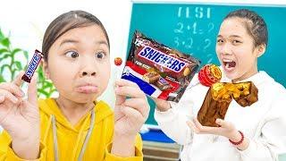 Cách Làm Kẹo Mút Tí Hon ❤ DIY Tiny Lollipops - Trang Vlog