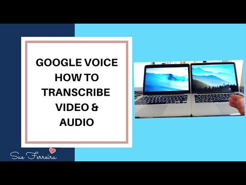 How To Transcribe Video Audio, Audio Track Or Voice Into Text, Using Voice Typing aka Google Voice