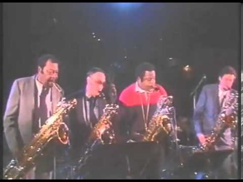 Baritone Sax Quartet: Nick Brignola, Ronnie Cuber, Cecil Payne, Howard Johnson, Berlin 1985