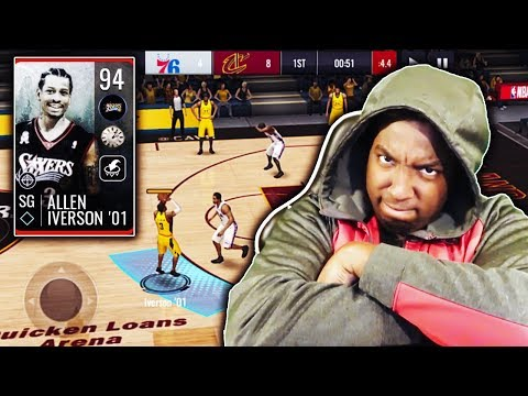 THE CLUTCH ABILITY IS BACK!!! 94 OVR GHOST OF CHRISTMAS PAST IVERSON GAMEPLAY!!! NBA LIVE MOBILE 19