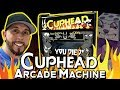 Cuphead Arcade cabinet in action
