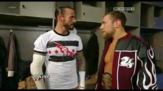 2012 WWE VEGAN TALK  BY DANIEL BRYAN TO CM PUNK