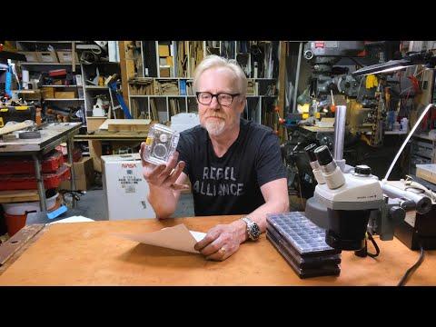 Adam Savage's New Tiny Parts Sorter and Storage!
