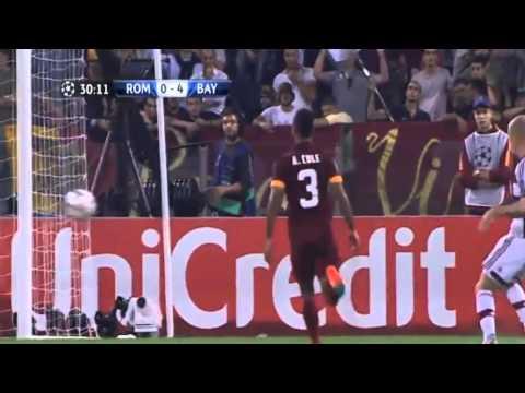 Roma 1-7 Bayern Munich