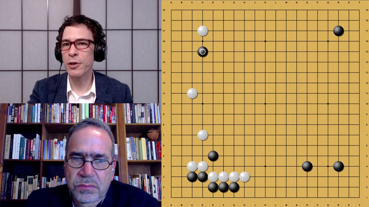 AlphaGo Zero vs. AlphaGo Lee with Michael Redmond 9p: Game 2