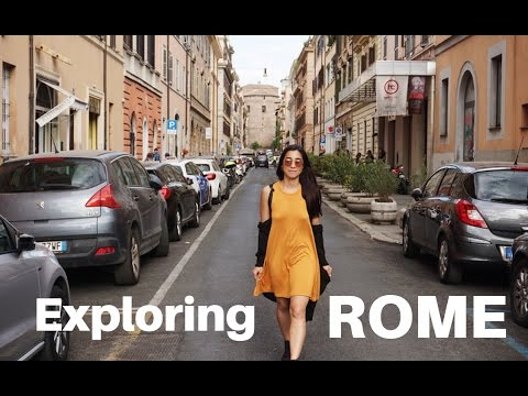 LOVE BITES IN ROME?! (Exploring Italy)