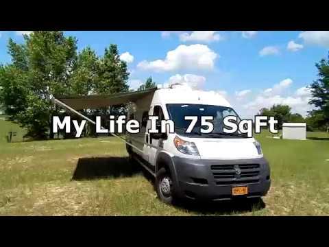 2017 Ram Promaster Camper Van Tour