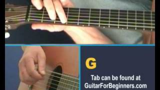 'Take me out to the Ballgame' guitar lesson