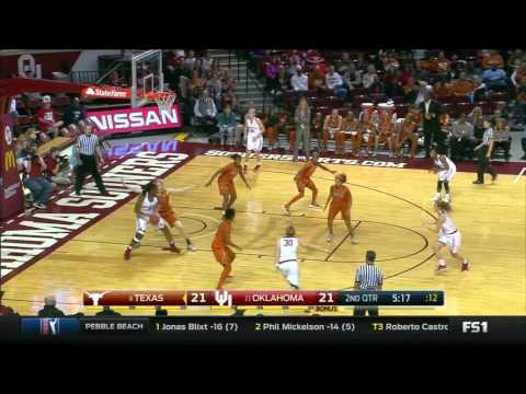 Texas at Oklahoma | 2015-16 Big 12 Women