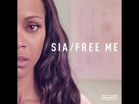 Sia - Free Me (starring Zoe Saldana & narrated by Julianne Moore)