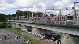 東急東横線 複々線 2017年