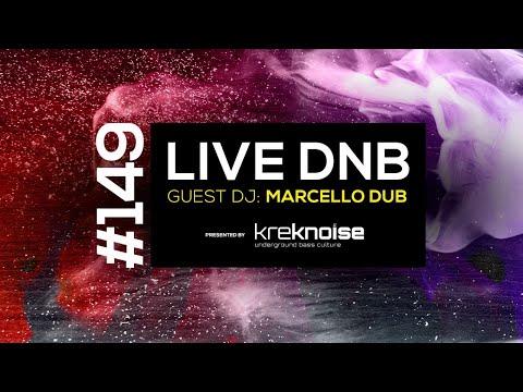 Krek Noise #149 - Live DnB - Guest Dj: Marcello Dub
