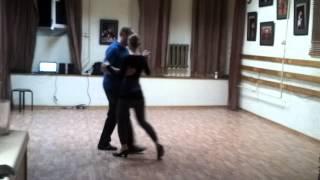 Танго урок