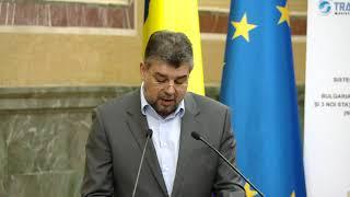 11/28/17 : Alocutiunea viceprim-ministrului Marcel Ciolacu, la semnarea Proiectului BRUA