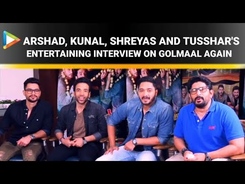 Rohit Shetty | Arshad | Tusshar | Shreyas | Kunal | Golmaal Again | Full Interview