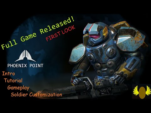 Phoenix Point Full Release - Good Stuff!  (Intro, Tutorial, Soldiers) - Season 1 Episode 1