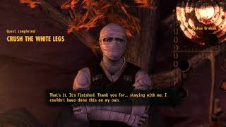 Fallout: New Vegas (PC) - Honest Hearts DLC Ending - Crush the White Legs (Best Possible Ending)