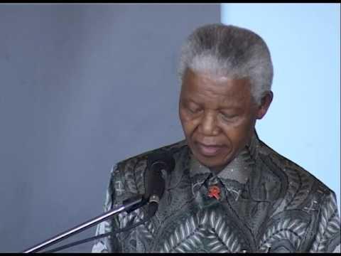 Nelson Mandela - Last visit to Robben Island