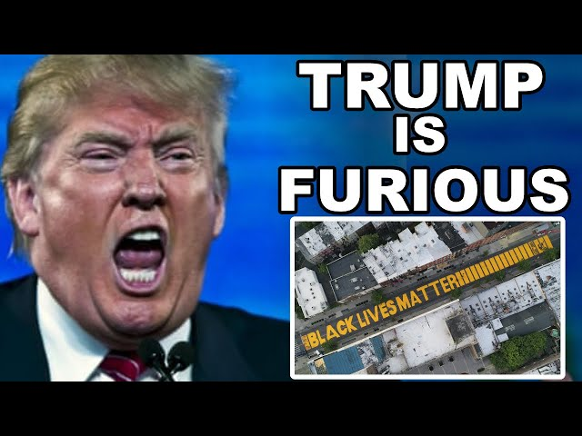 Trump is FURIOUS.. BLM **PAINTED** in front of TRUMP TOWER?! Russia Declares WAR?! | Covid-19 News