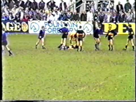 Bath Schools 7s Rugby Final 1987 ( Culverhay vs Beechen Cliff ) at Bath Rugby Club