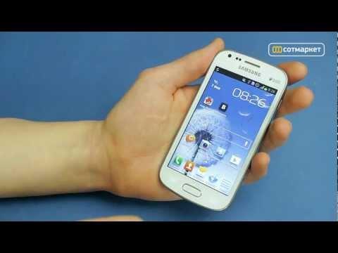 Видео обзор Samsung Galaxy S Duos S7562 от Сотмаркета