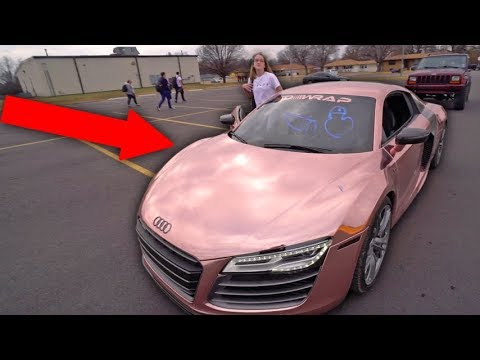 KID VANDALIZES MY SUPERCAR RIGHT IN FRONT OF ME! *COPS CALLED*