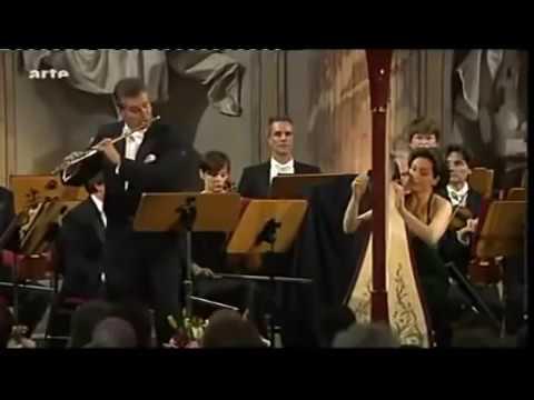 Mozart Flute and Harp Concerto K 299 C major Boucly, Moretti
