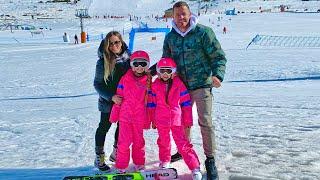 Primer dia de esqui de Gisele y Claudia itarte Vlogs
