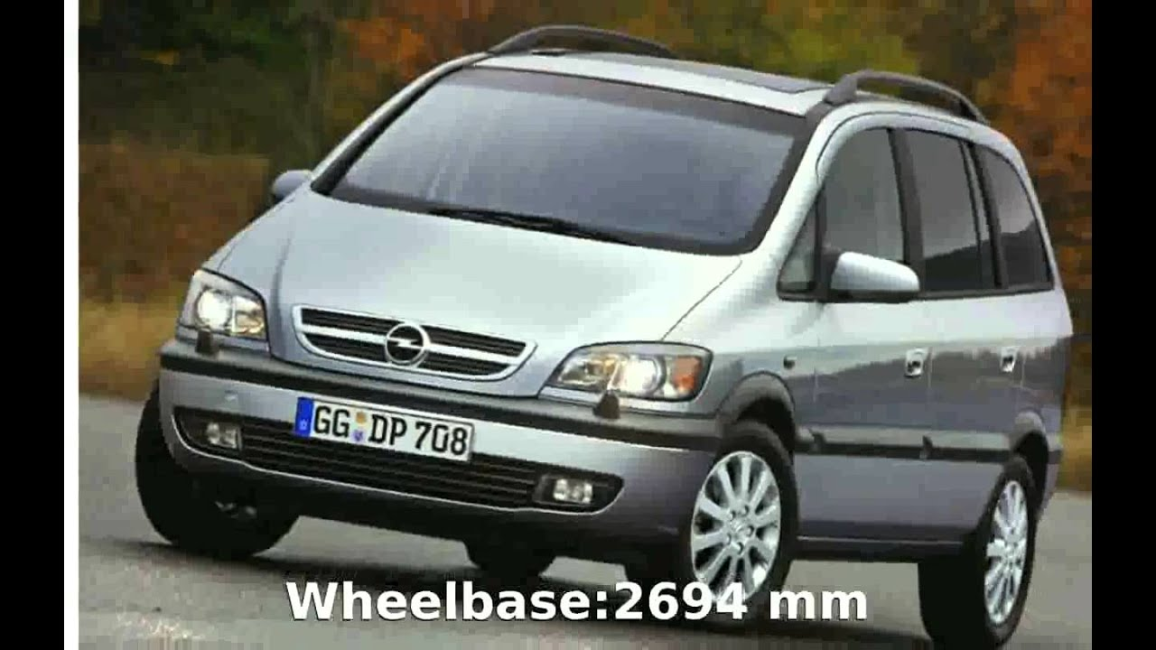 2002 opel zafira comfort 2 2 16v automatic features and info fotoautos youtube. Black Bedroom Furniture Sets. Home Design Ideas