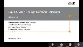 Sg2 COVID-19 Surge Demand Calculator v6.1 Overview
