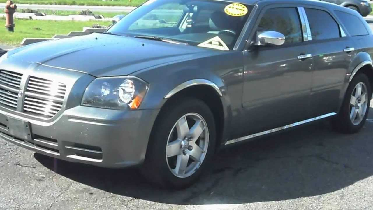2005 Dodge Magnum Sxt All Wheel Drive 3 5 V6 Youtube
