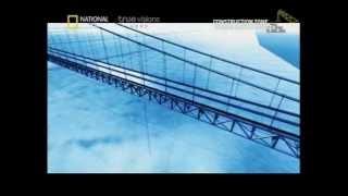 การสร้างสะพานแขวนยาวที่สุดในโลก