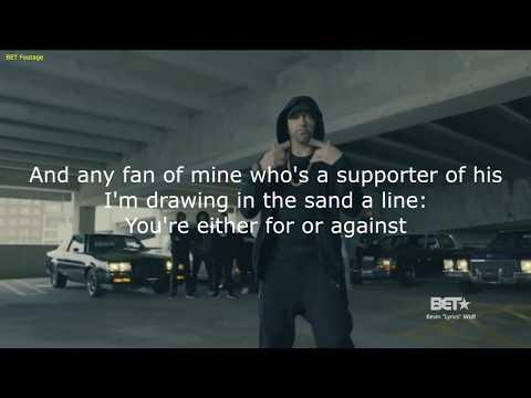 LYRICS - Eminem - Donald Trump Diss (The Storm)