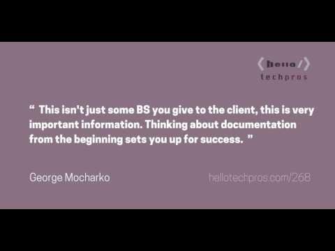 268: The UX of Technical Documentation — George Mocharko