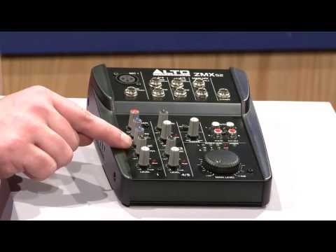 Alto Professional Zephyr Series ZMX52 5-Channel Compact Mixer, Overview | Full Compass