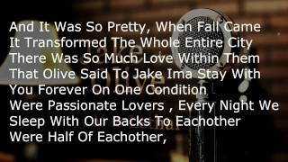 "Mac Lethal ""Jake + Olive"" Lyrics"