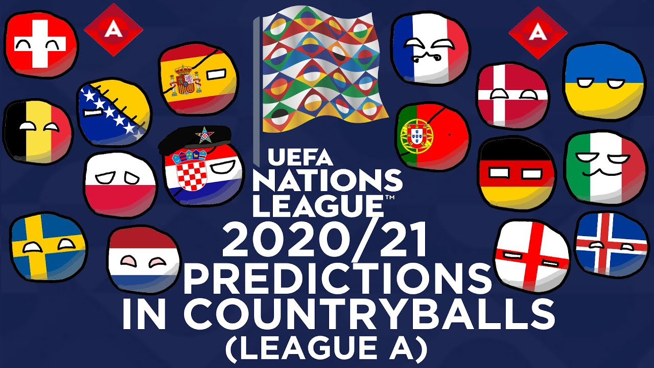 LEAGUE A | UEFA Nations League 2020/21 Predictions In ...
