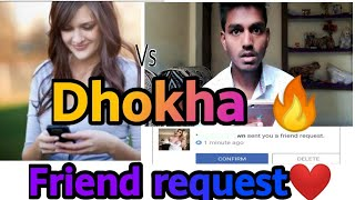 Facebook friend request dhokha funny video |girl vs boys  |the kanoujia show