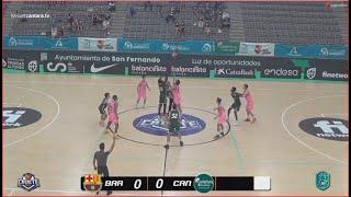 U16M-Cpto.España:  FC BARCELONA -CANTERBURY. Cadete masc. FEB-San Fernando (Cádiz) 2021
