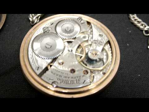 Antique 1908 Waltham 15 Jewel Size 14 Gold Filled Pocket Watch 15432974