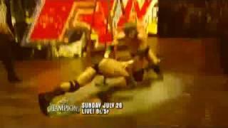wwe john cena vs randy orton vs triple h night of champions 2009 preview triple threat match