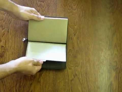 Записная книжка своими руками переплет